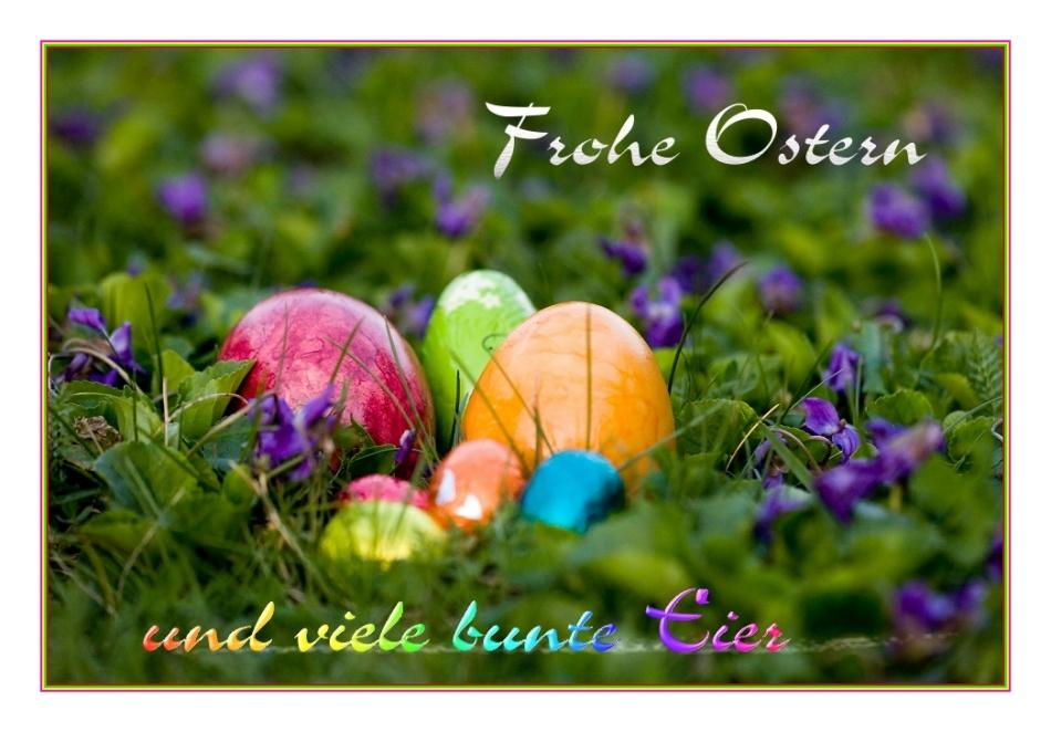 Frohe Ostern Karten