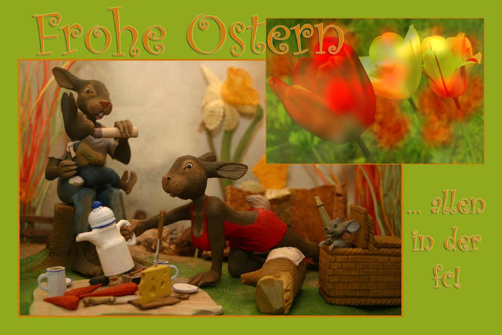 Frohe Ostern allen fclern!