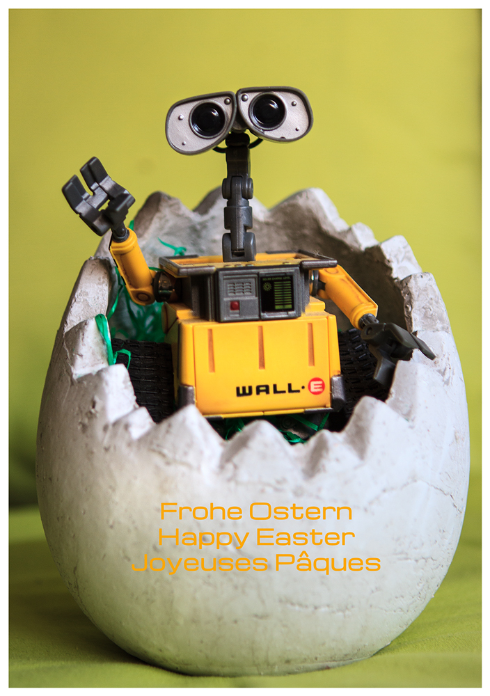 Frohe Ostern :))