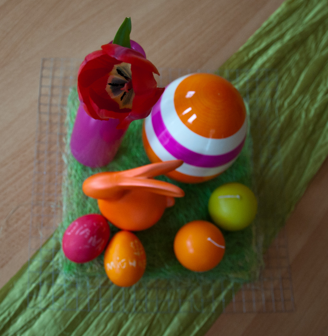 Frohe Ostern noch schnell an