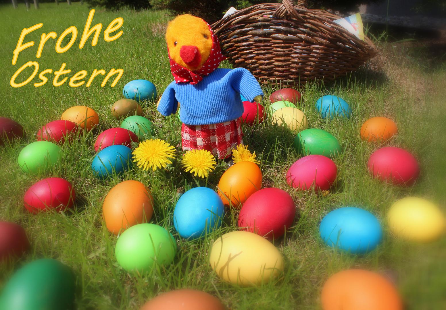 Frohe Ostern und liebe Grüße aus dem Spreewald