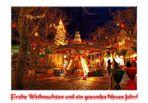 Frohe und gesegnete Weihnachtstage