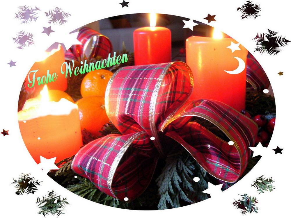 ... frohe Weihnachen ...