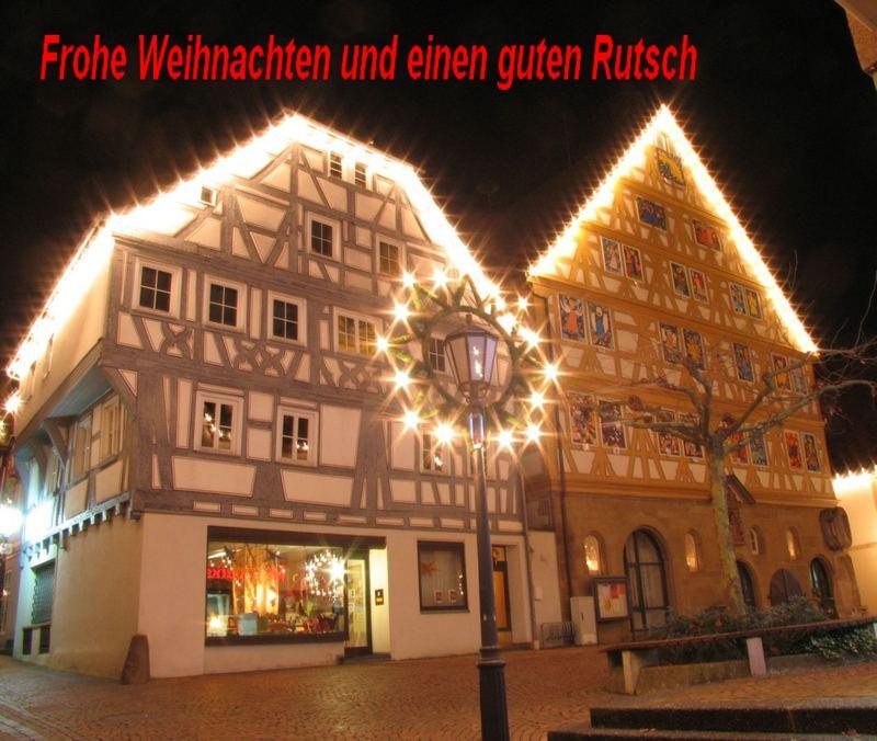 Frohe Weihnacht und einen guten Rutsch ins neue 2007