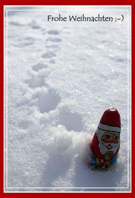 Frohe Weihnachten ;-) ...