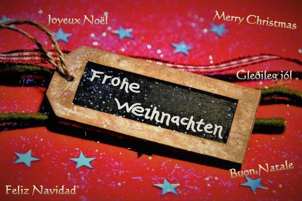 * Frohe Weihnachten *
