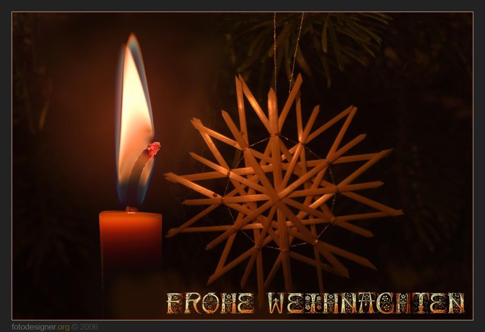 « Frohe Weihnachten »