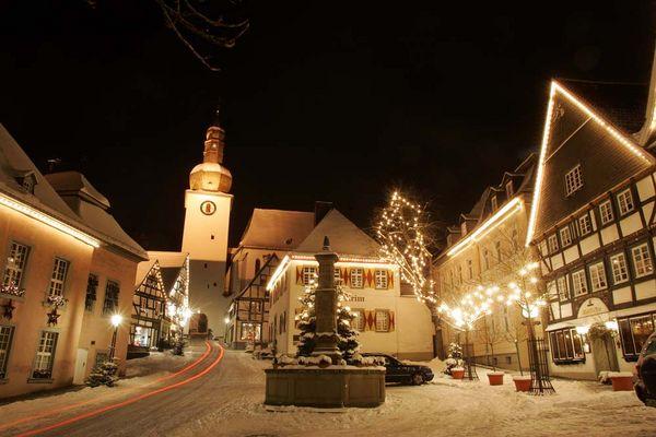 Frohe Weihnachten aus dem Sauerland
