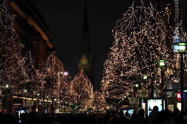 Frohe Weihnachten aus Hamburg