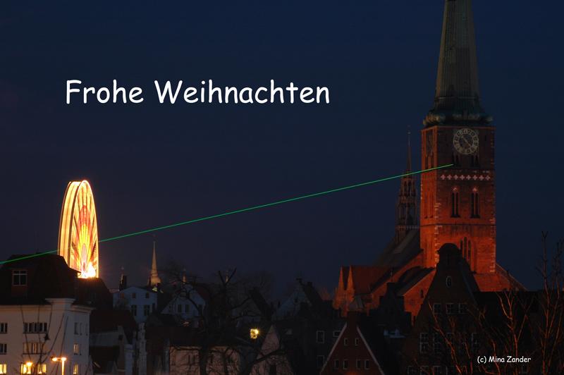 Frohe Weihnachten aus Lübeck