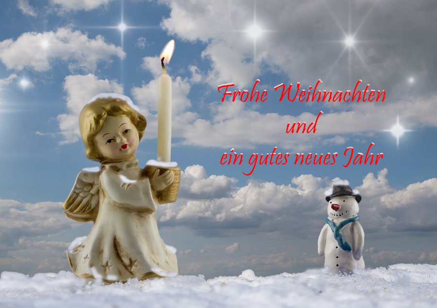 Frohe Weihnachten die Zweite ...