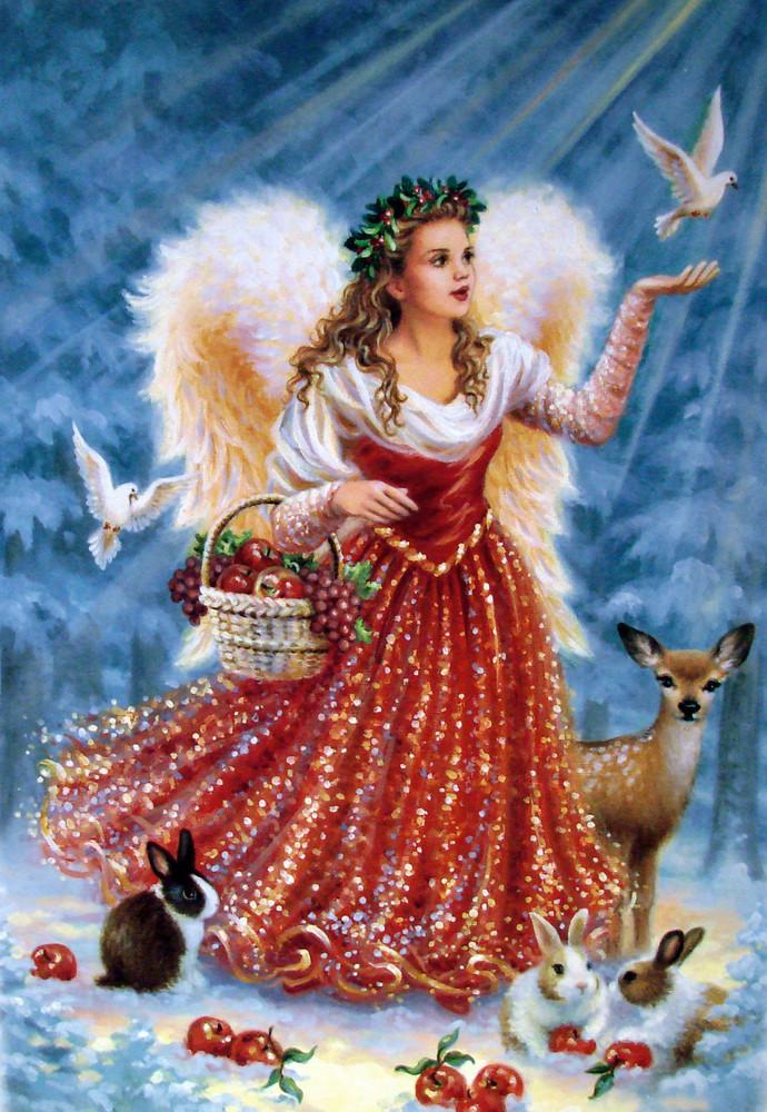 Frohe weihnachten euch allen foto bild gratulation und feiertage - Vintage bilder kostenlos ...