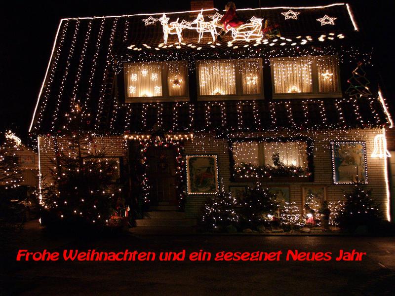 Frohe Weihnachten Euch allen