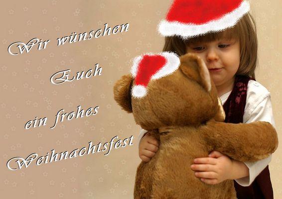 Frohe Weihnachten für alle!
