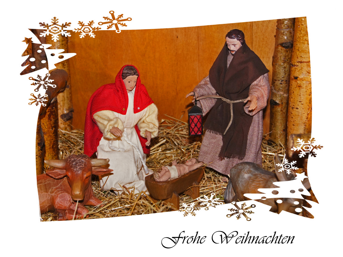Frohe Weihnachten - Joyeuses Fêtes - Merry Christmas