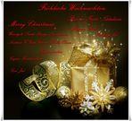 Frohe Weihnachten! Merry Christmas! ...