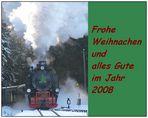 Frohe Weihnachten und alles Gute im Jahr 2008