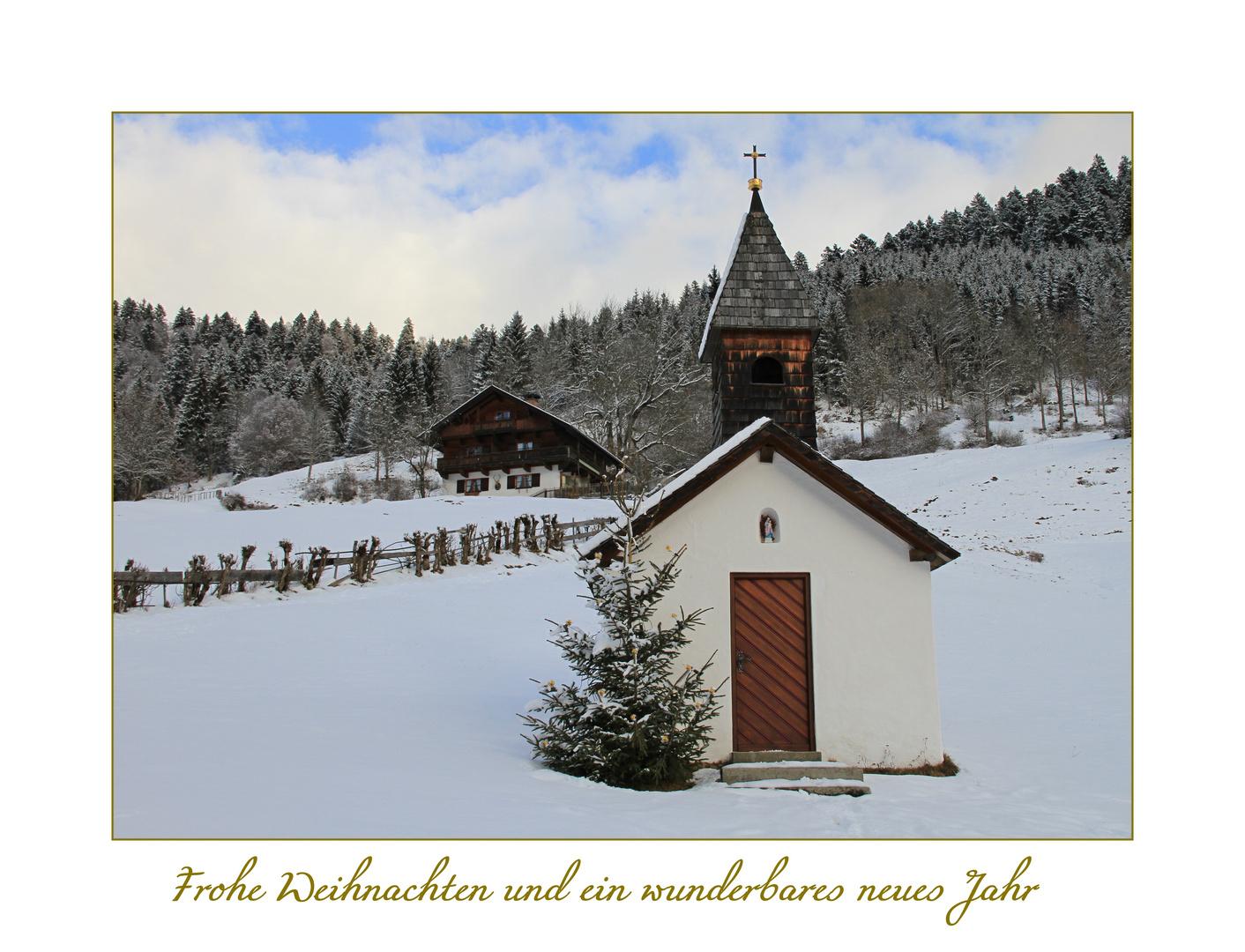Frohe Weihnachten und ein wunderbares neues Jahr 2012 ...