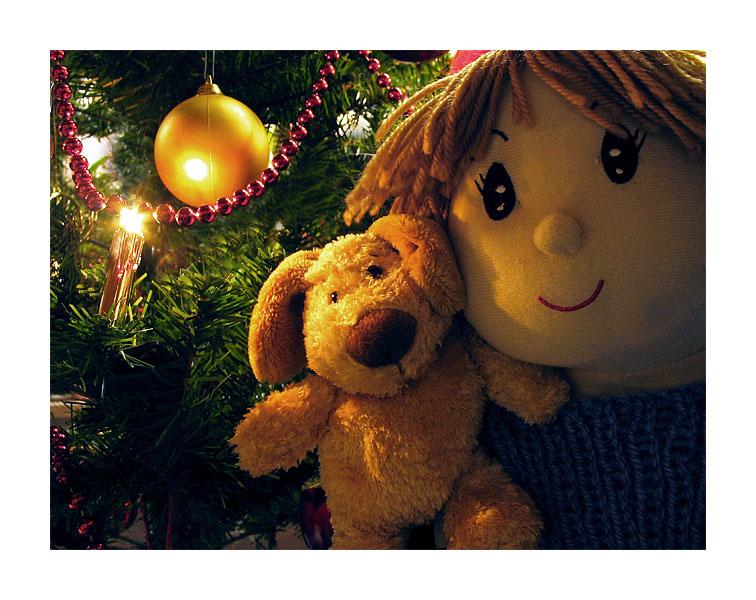 Frohe Weihnachten wünscht euch allen Susi