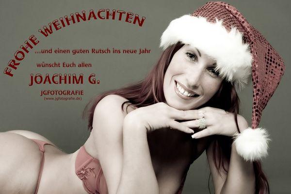 Frohe Weihnachten wünscht JGFotografie