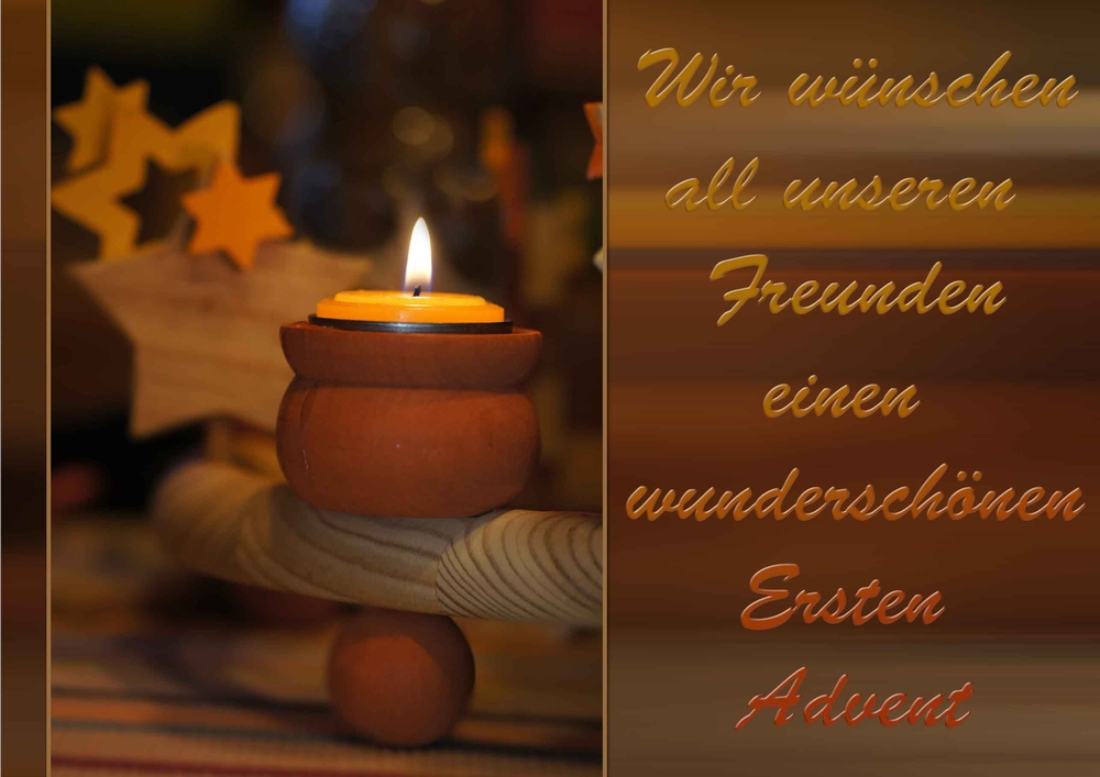 Froher erster Advent