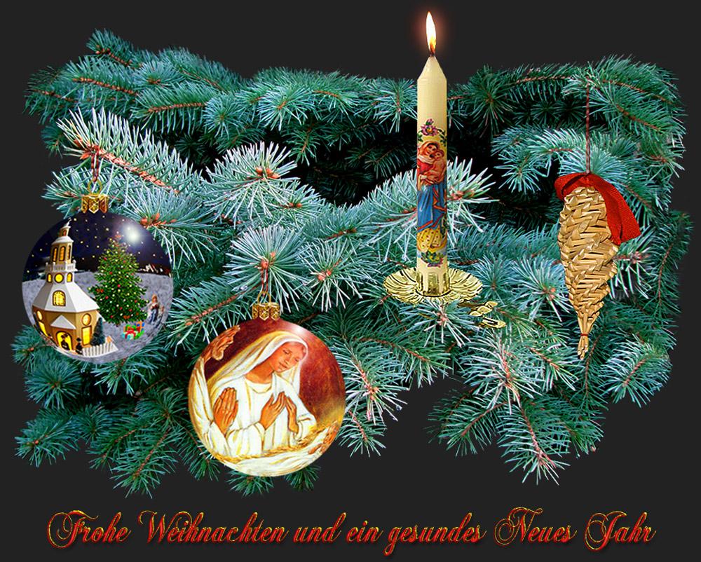 Frohes Fest und alles Gute für 2009