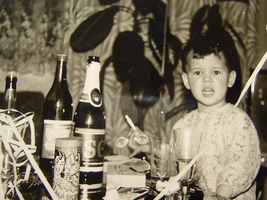 >>Frohes Neues Jahr<< Silvester 1960