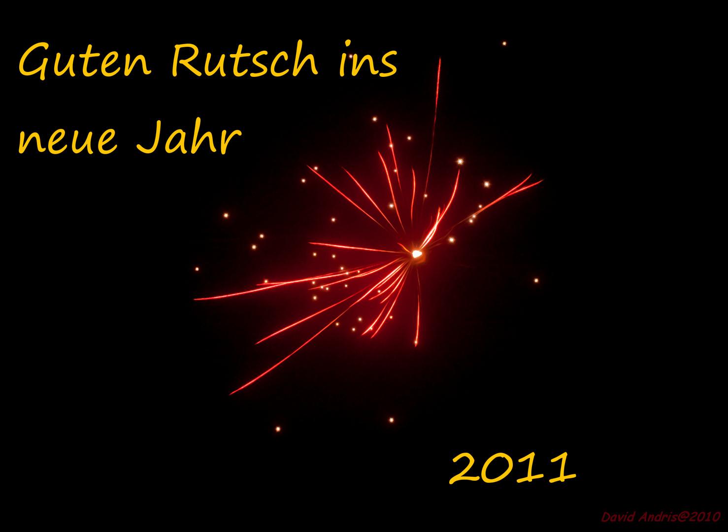 Frohes Neues Jahr!! Und alle vielen Dank!!