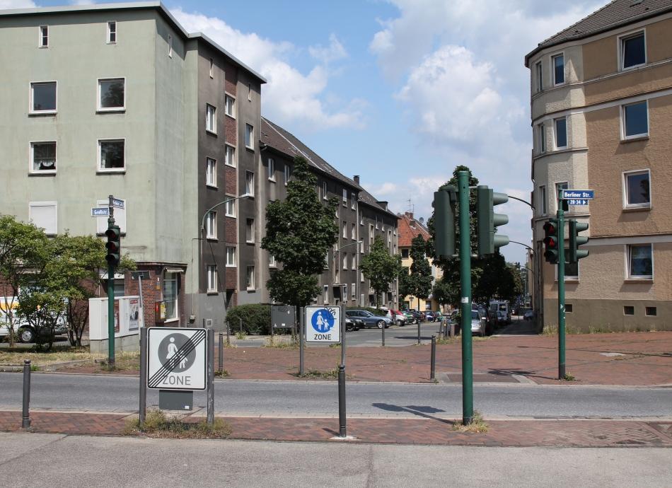 Frohnhausens Fußgängerzone
