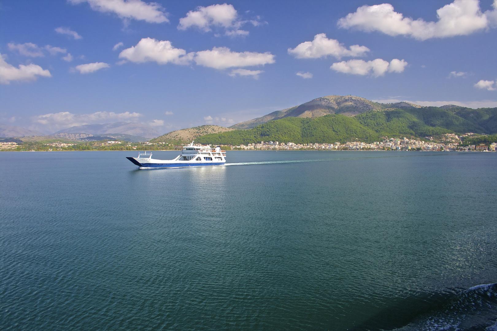 .......from Corfu to Igoumenitsa!