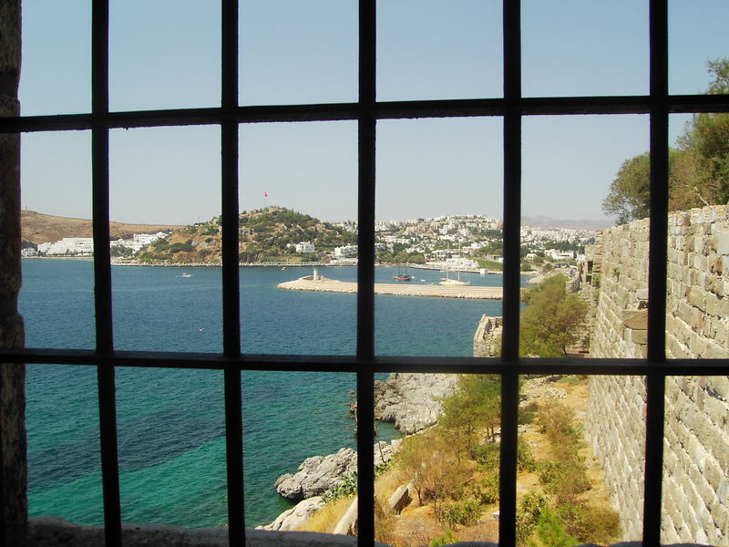 from english tower-bodrum castle