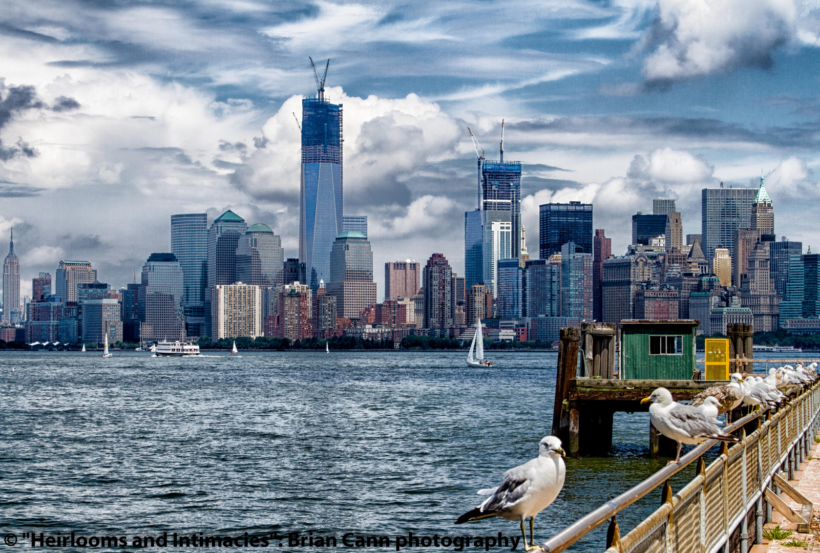 From Liberty Island