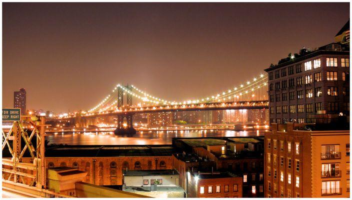 From Manathan bridge since Brooklyn bridge