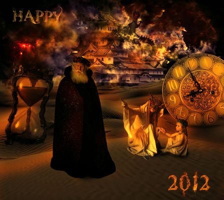 From the time sands comes the year of the Dragon!