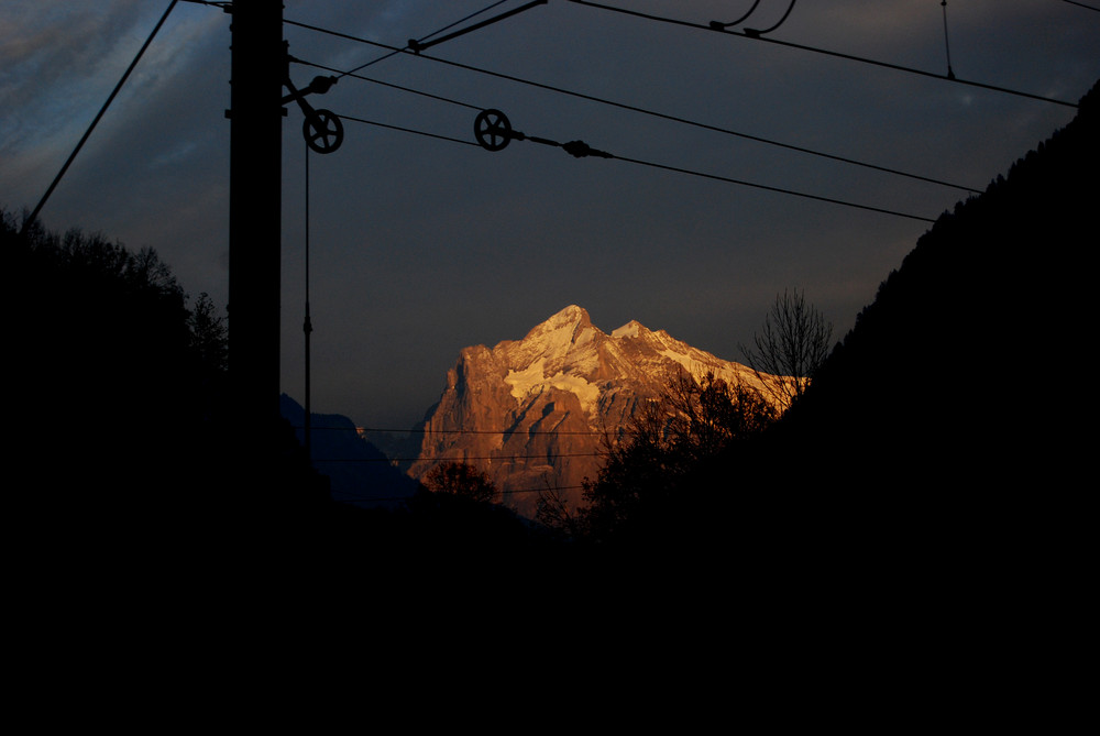From the Train to the Mountain