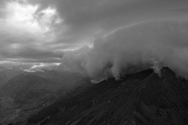 Fromberghorn bei aufziehendem Gewitter