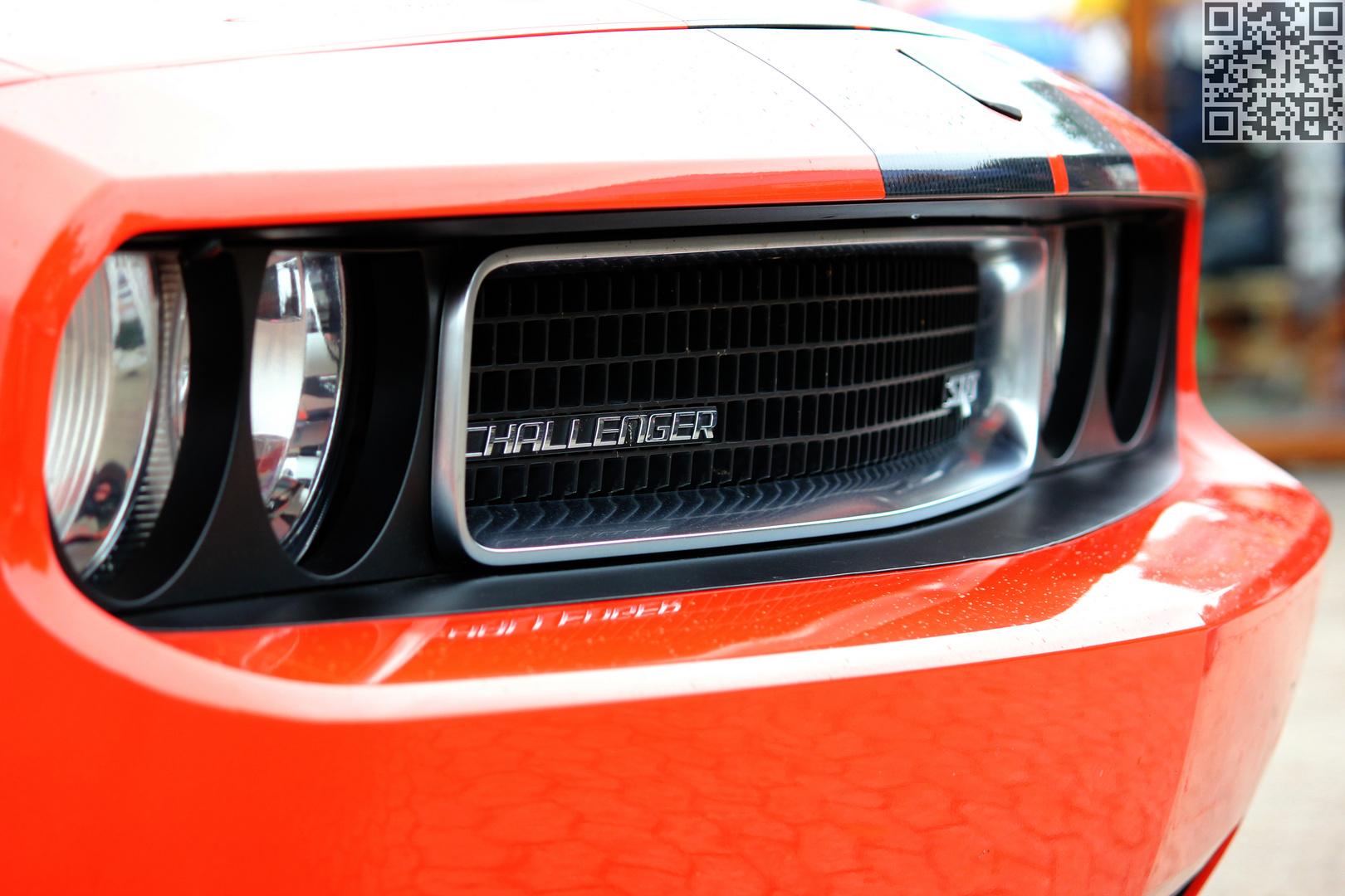 Front des Dodge Challenger SRT