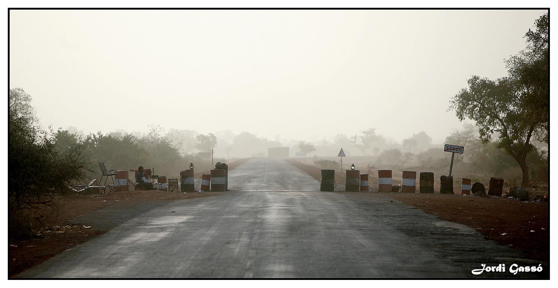 Fronteras de Mali