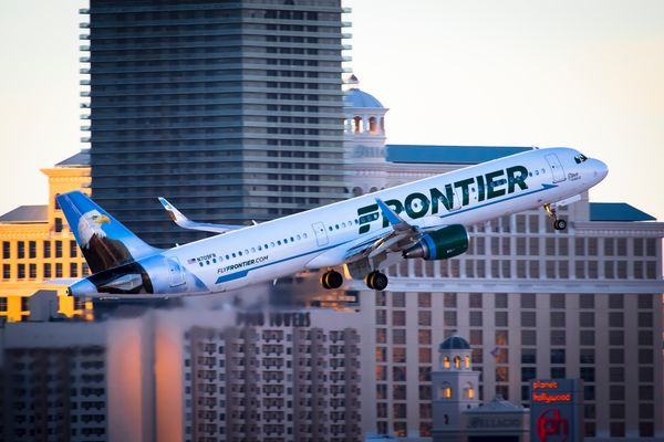 Frontier Airlines   ( Steve the Eagle )