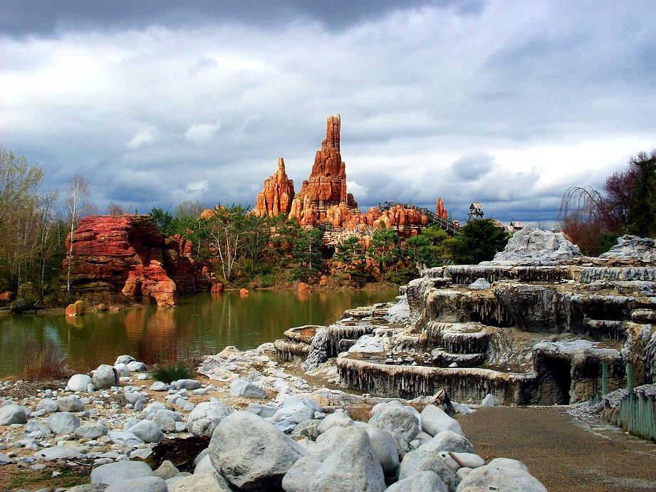 Frontierland in Disneyland Paris