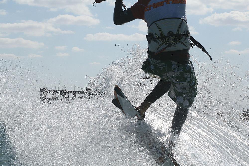 Frontloop Kitesurfen