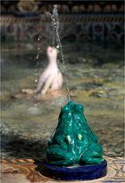Frosch im Brunnen