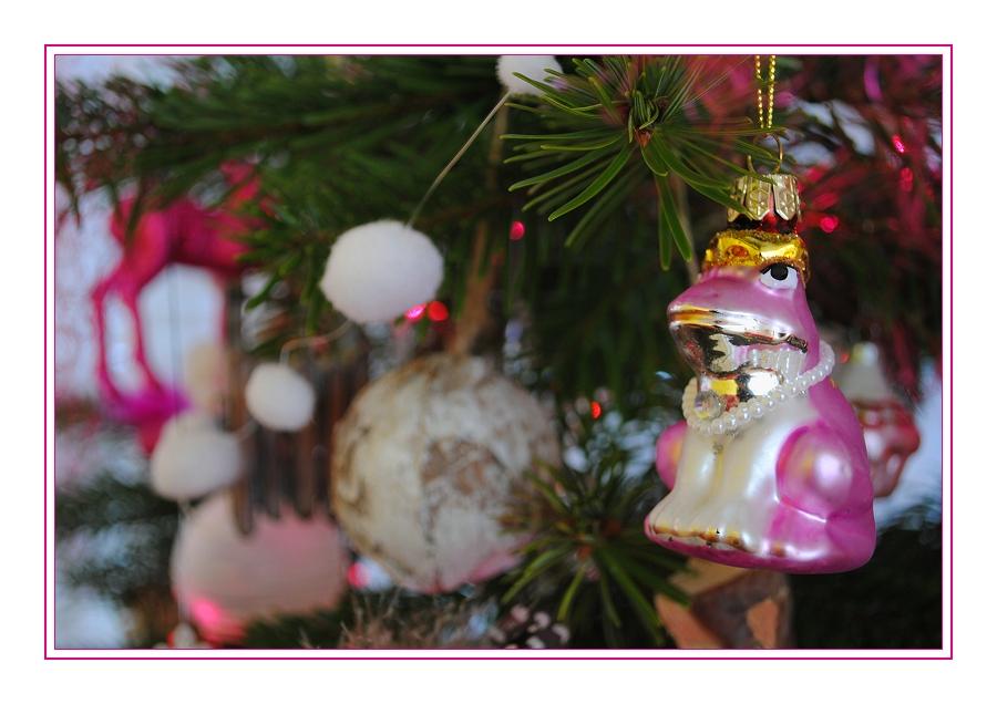 Froschige Weihnachten