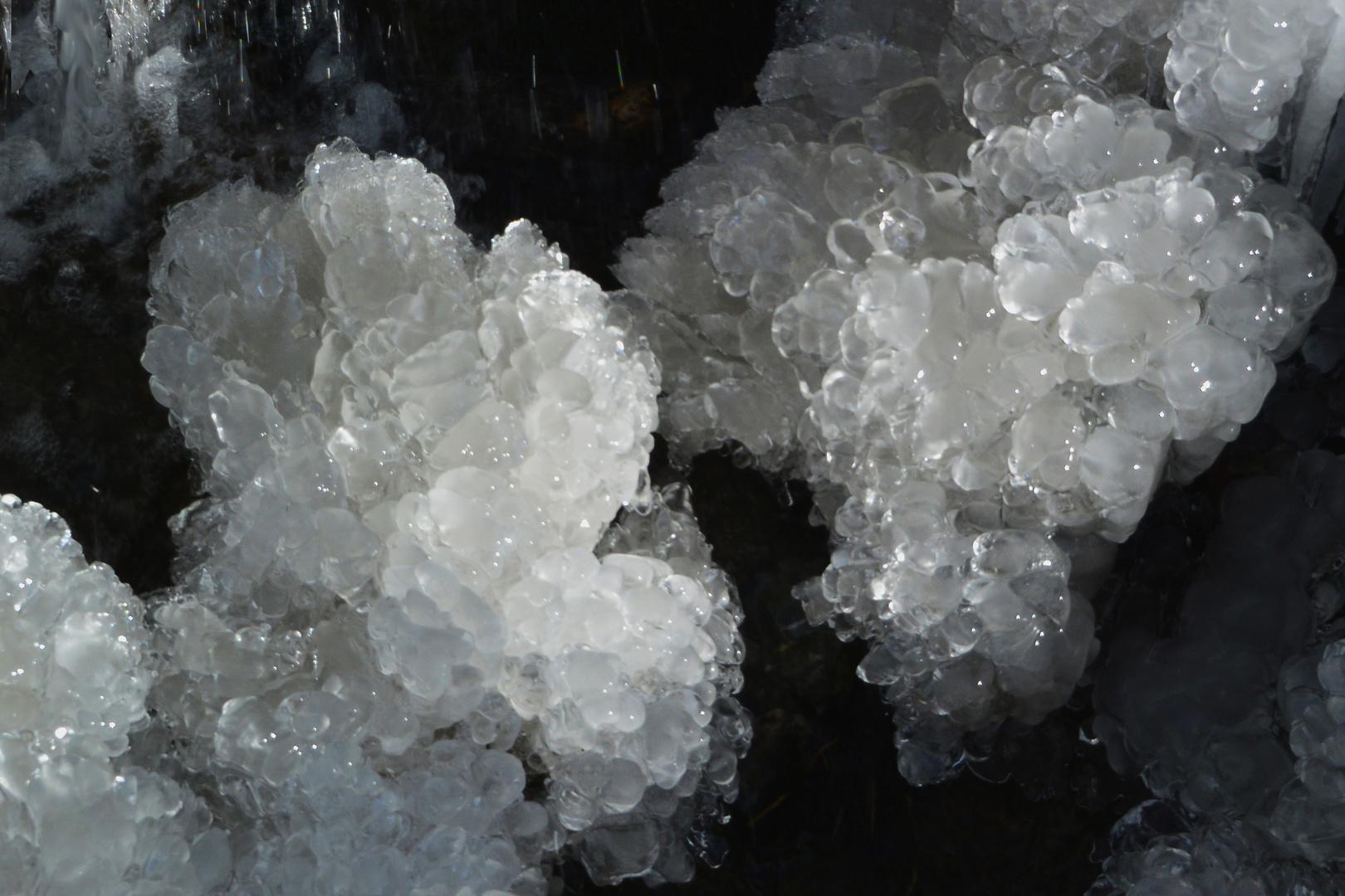 Frost als Skulpteur