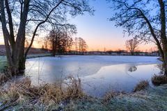 Frost im Februar