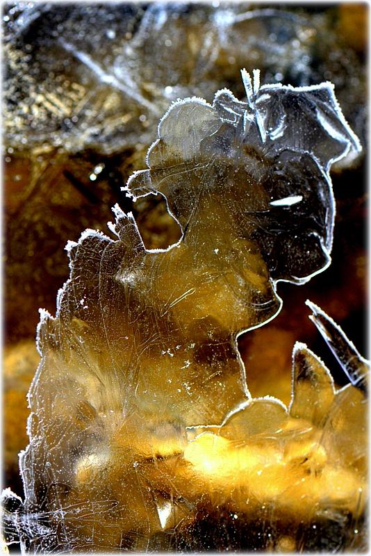 """FrostFigur """"Bildhauer bei der Arbeit"""""""