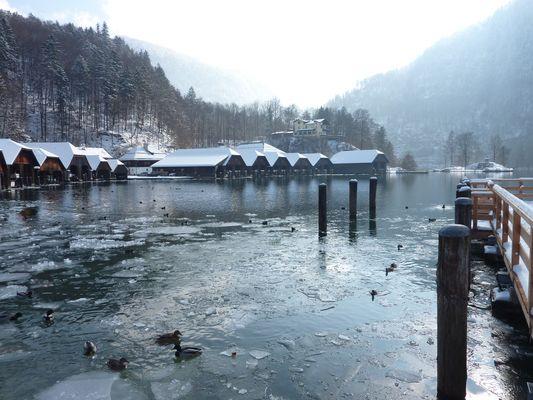 Frostige Wintertage am Königssee