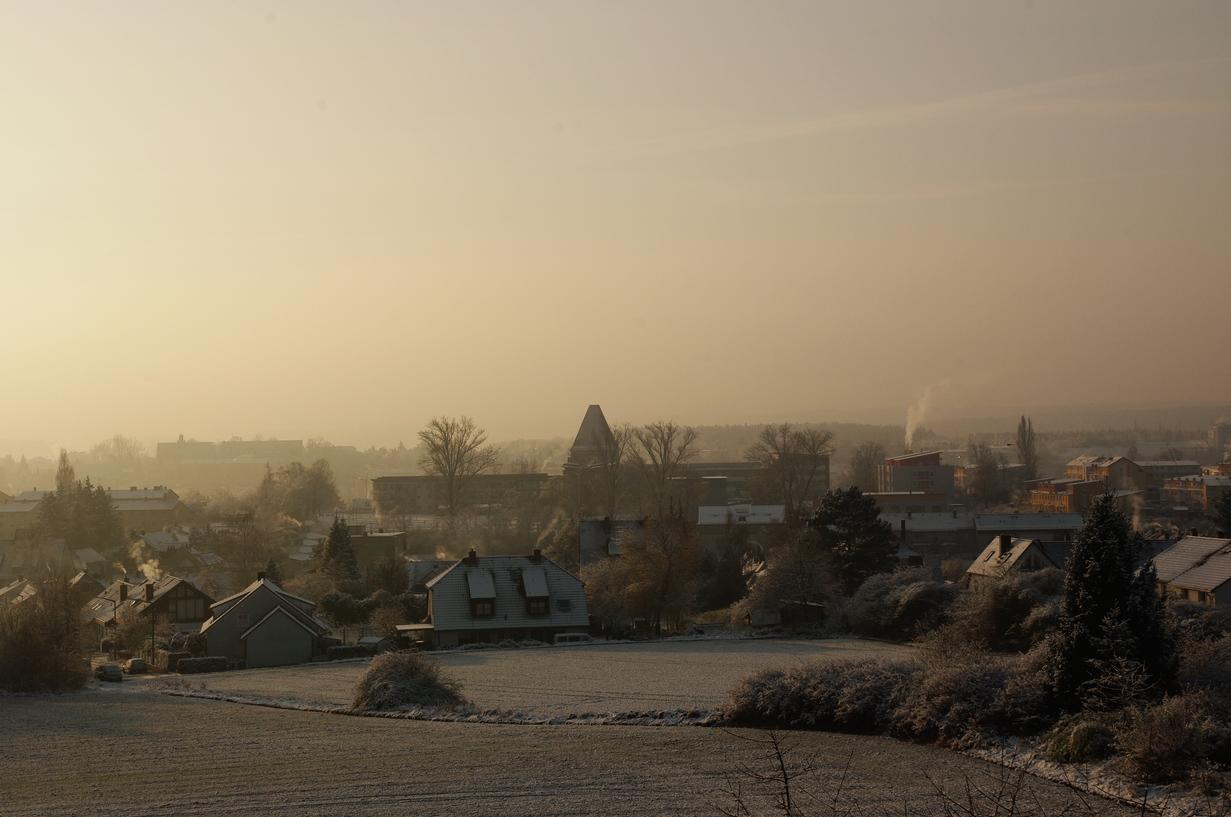 Frostiger Novembermorgen