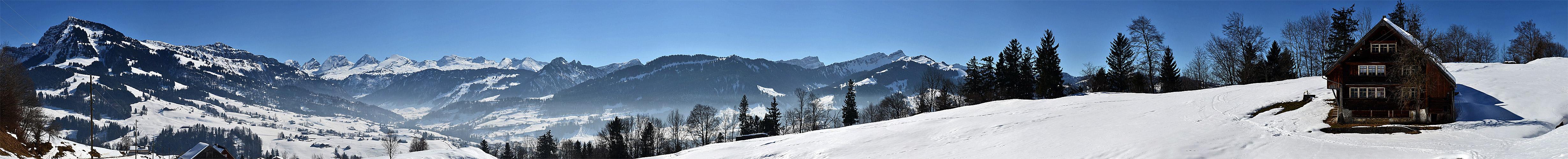 Frostiges Toggenburg