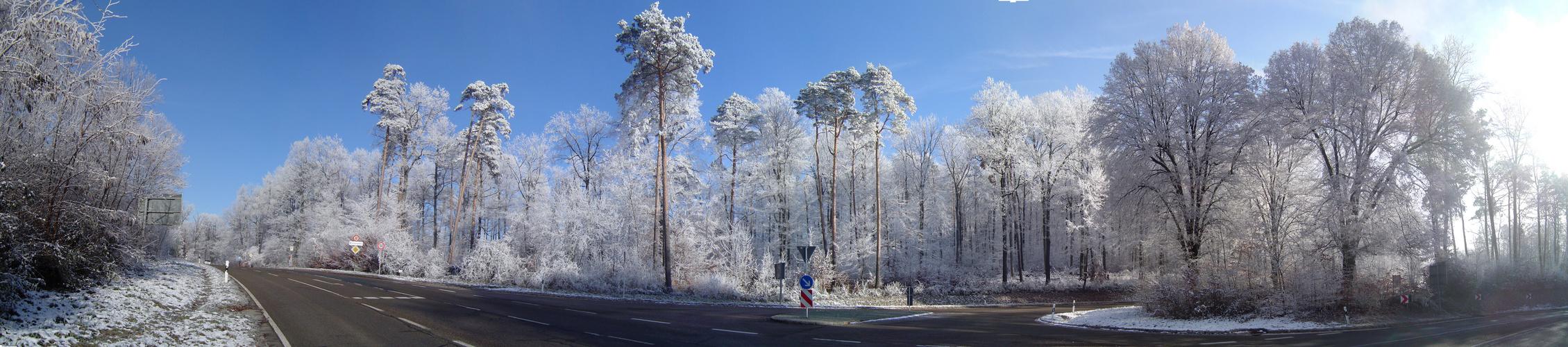 Frostlandschaft